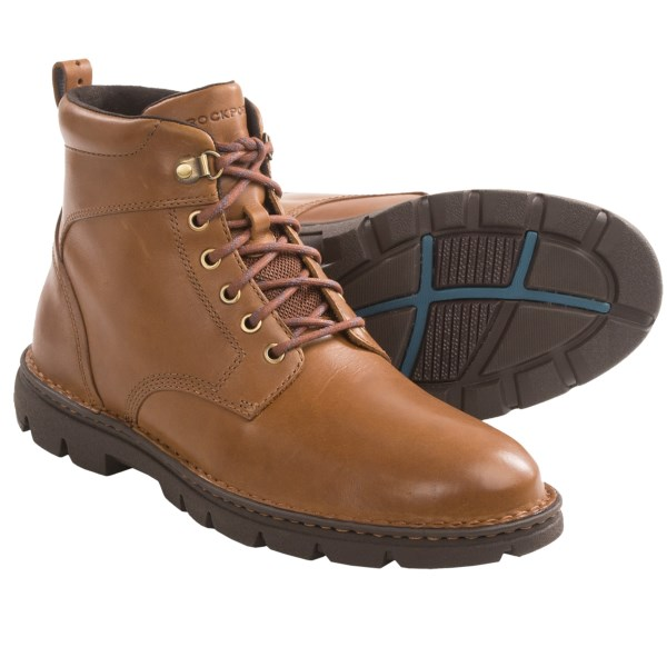 Rockport RocSport Lite Rugged Boots - Plain Toe (For Men)