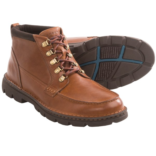 Rockport RocSport Lite Rugged Boots - Moc Toe (For Men)