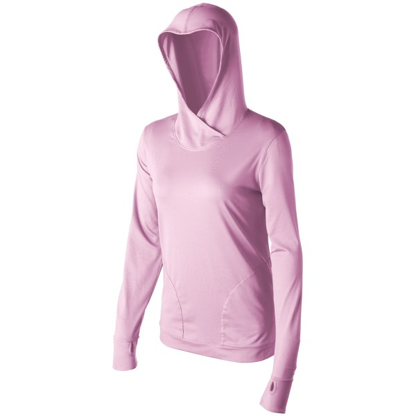 CLOSEOUTS . Redingtonand#39;s Marquesas hoodie delivers lightweight UPF 30 sun protection, comfortable stretch and convenient thumbhole cuffs. Available Colors: SMOKED, APRICOT, LIGHT MINT, PINK SKY. Sizes: S, XL, L, M.