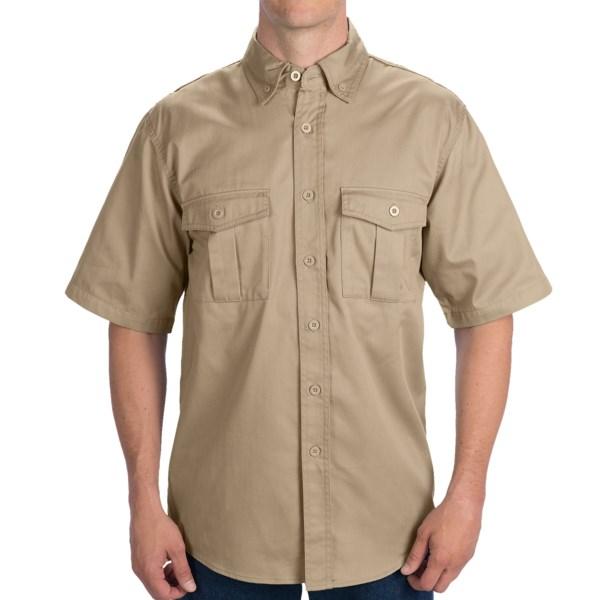 Walls Workwear Shooter Shirt - Short Sleeve (For Men)