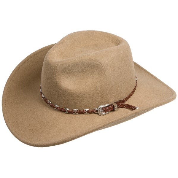 Outback Trading Wallaby Wool Felt Hat - UPF 50, Crushable (For Men and Women)