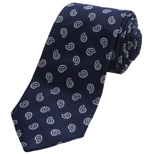 Altea Silk Tincino 2 Pine Tie (For Men)