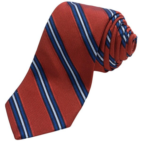 Altea Ticino Stripe Tie (For Men)