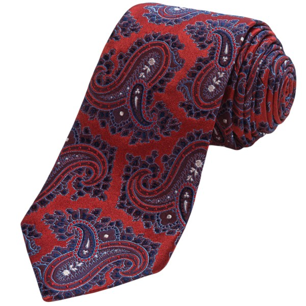 Altea Silk Senna 1 Paisley Tie (for Men)