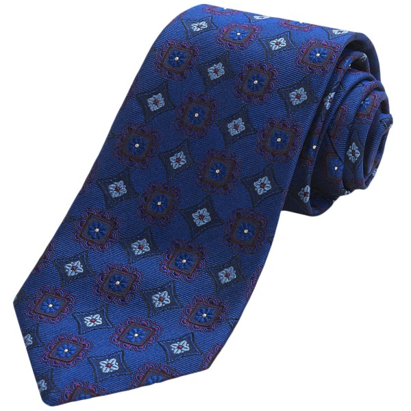 Altea Silk Ticino Medallion Tie (for Men)