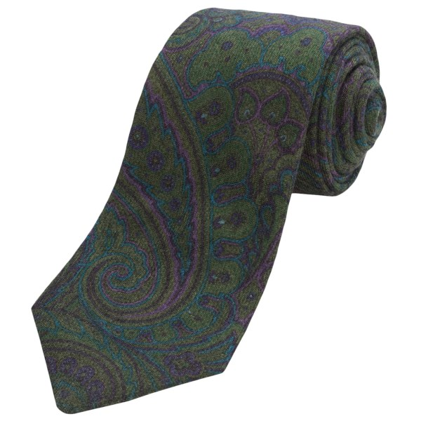 CLOSEOUTS . Who canand#39;t use a punchy print? Alteaand#39;s Olona 1 tie supplies exactly that, in droves, with a colorful, oversized paisley. Available Colors: NAVY, BLUE, GREEN.