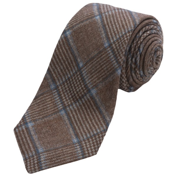 Altea Ticino 2 Plaid Tie - Wool (For Men)