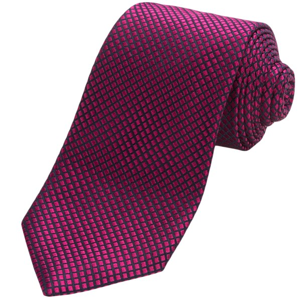 CLOSEOUTS . Whatever color you choose in this faux solid Altea tie, the silk will pop with an irresistible vibrancy thanks to deep channels of black creating a stunning mosaic. Available Colors: GOLD, BERRY, PURPLE.