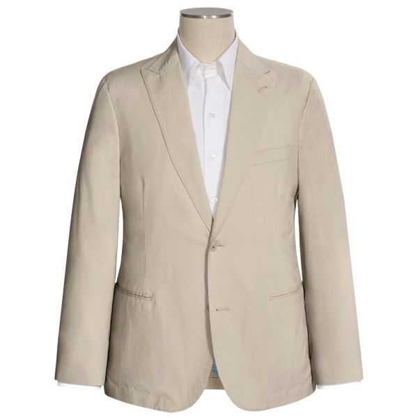 Flynt Corleone-W Soft Sport Coat - Stretch Cotton (For Men)
