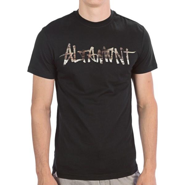 Altamont Paint By Camo Logo T-shirt - Cotton, Short Sleeve (for Men)