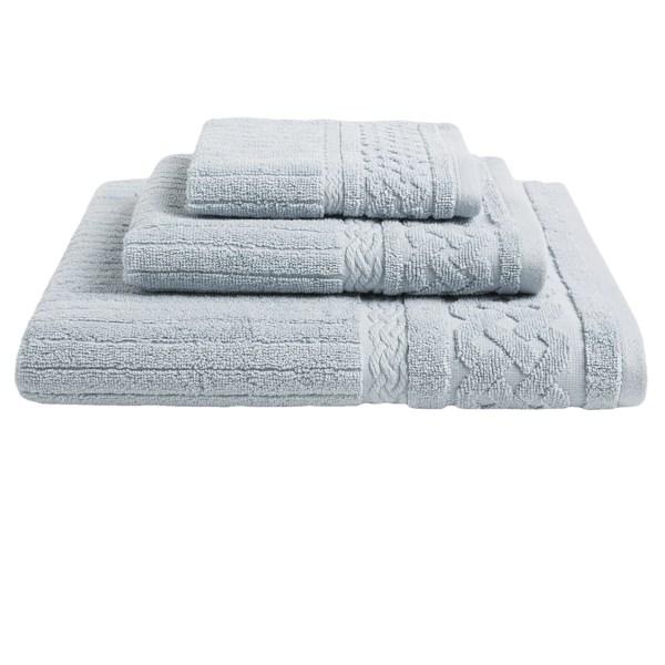 Kassadecor Cable Rib Hand Towel - 550gsm Cotton