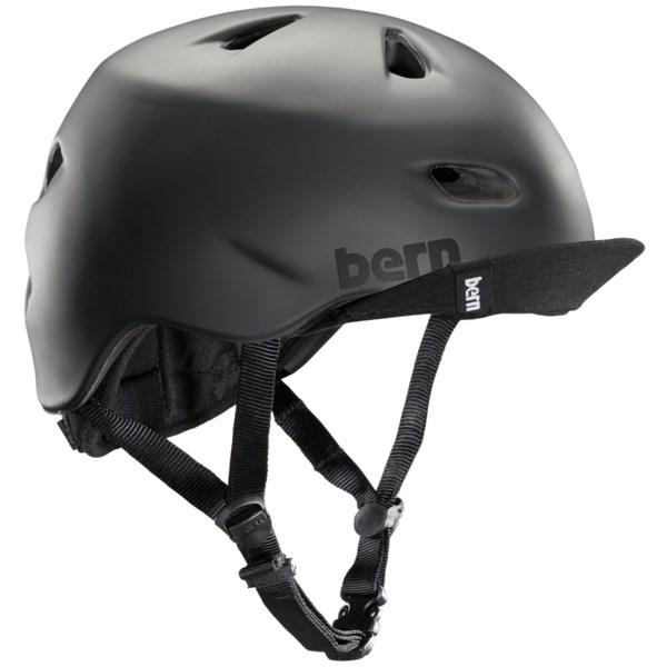 Bern Brentwood Zip Mold(R) Helmet with Visor (For Men)