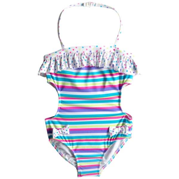 Jantzen Printed One-Piece Swimsuit - UPF 50  (For Girls)