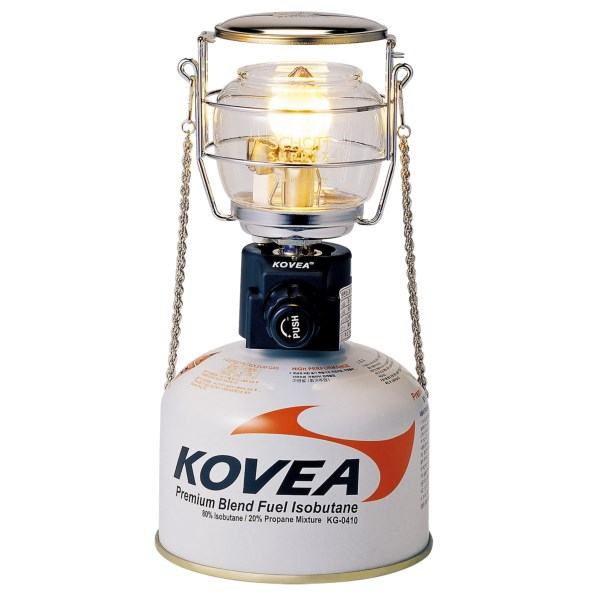 photo of a Kovea fuel-burning lantern