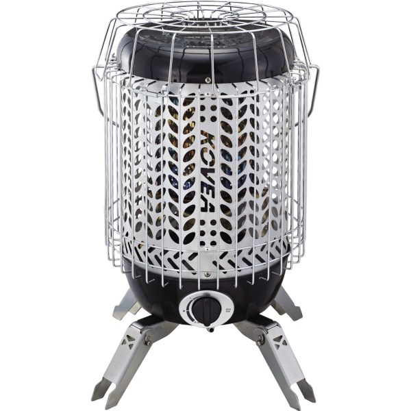 CLOSEOUTS . Great for car-camping, long-term camping, expeditions, hunting and even use on the patio or in the shop, Koveaand#39;s Giga Sun heater has a lightweight, circular design that provides heat in a 360and#176; radius. Safety features turn off heater when tilted, knocked over or when carbon monoxide levels reach a certain threshold. Available Colors: SEE PHOTO.