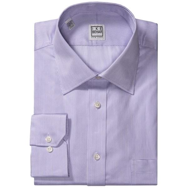 Ike Behar Silver Label Dress Shirt - Micro Stripe, Long Sleeve (For Men)