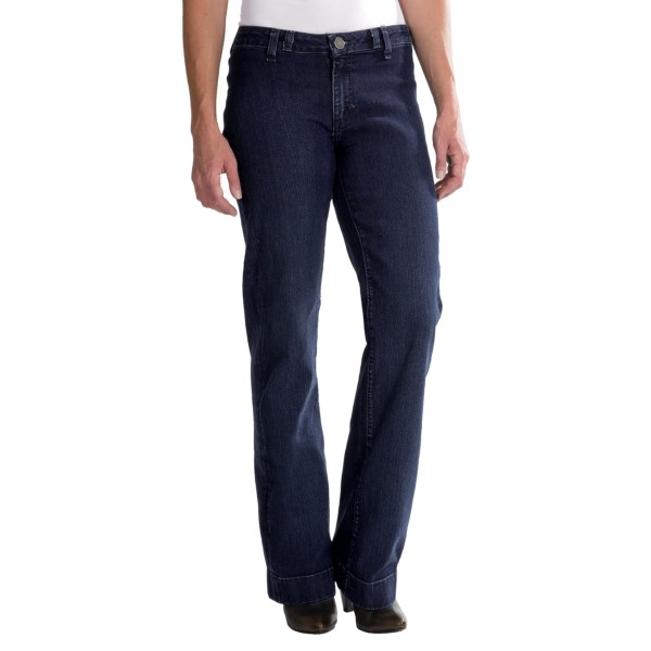 Wrangler Rock 47 Wide Leg Jeans (For Women)