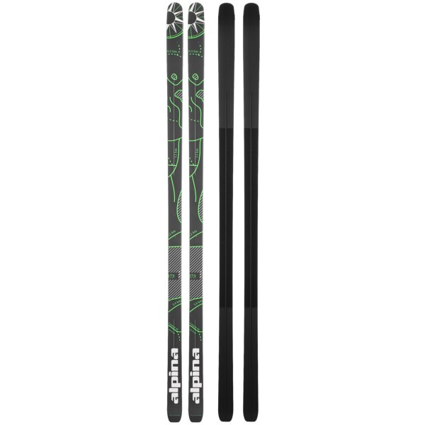 CLOSEOUTS . Lightweight and easy to maneuver, Alpina Control 64 backyard cross-country touring skis offer excellent stability for recreational skiers who tackle groomed tracks and occasionally head off-trail. Available Colors: SEE PHOTO.