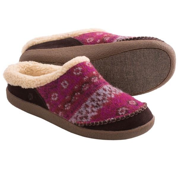 Acorn Crosslander Mule Slippers (For Women)