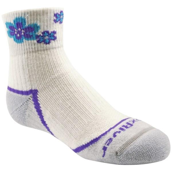 Fox River Trail Jr. Socks - Merino Wool Blend, Quarter-Crew (For Girls)