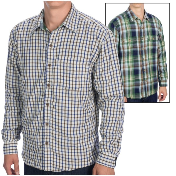 Vintage 1946 Rio Plaid Shirt - Reversible, Long Sleeve (For Men)