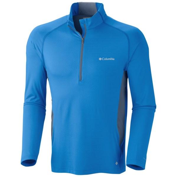 Columbia Sportswear Freeze Degree Shirt - UPF 50, Zip Neck, Long Sleeve (For Men)
