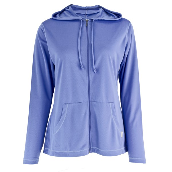 White Sierra Bug Free Hoodie - UPF 30, Insect Shield(R), Full Zip (For Women)