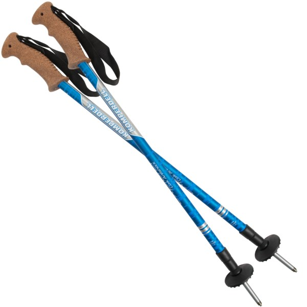 Komperdell Cork Grip Trekking Poles - Anti-Shock
