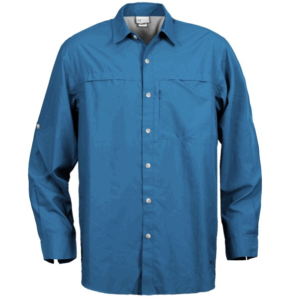 White Sierra Swamp Shirt - UPF 30, Insect Shield(R), Long Sleeve (For Men)