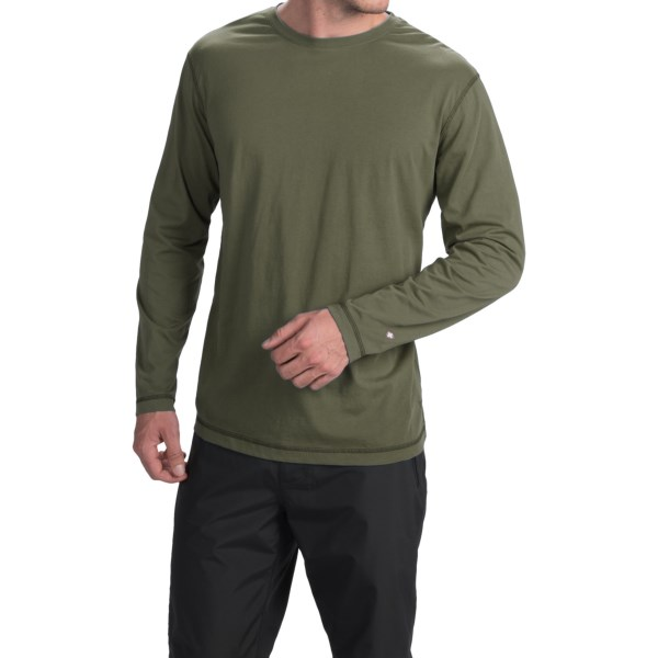 White Sierra Swamp T-Shirt - Insect Shield(R), Long Sleeve (For Men)