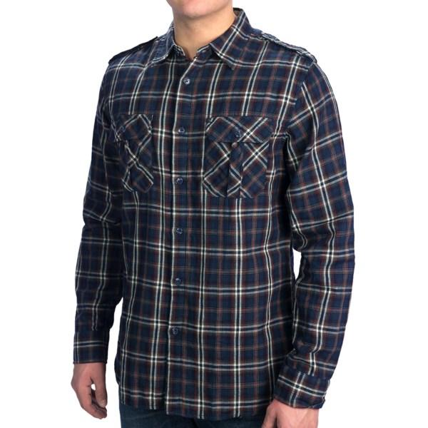 Dakota Grizzly Brewer Shirt - Cotton Gauze, Roll-Up Long Sleeve (For Men)