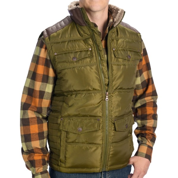 Dakota Grizzly Galt Expedition Vest - Insulated (For Men)