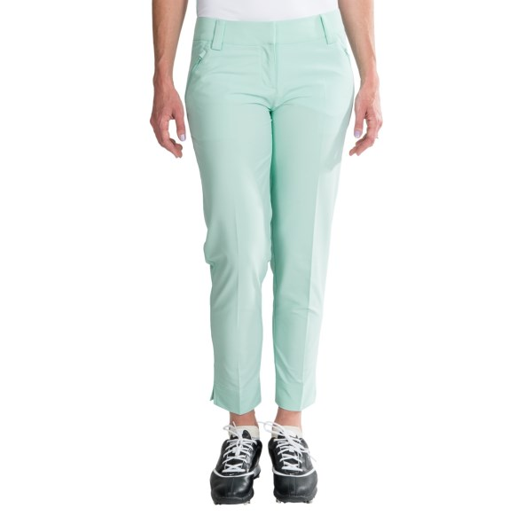 Adidas Golf Contrast Cropped Pants (For Women)