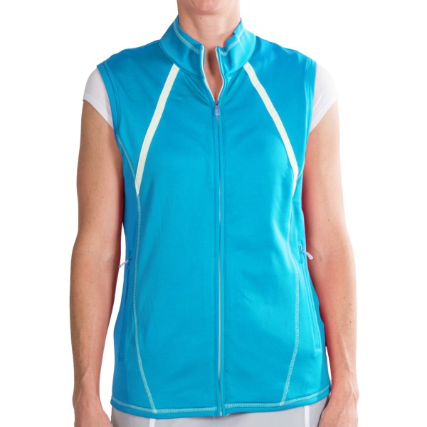 Adidas Golf ClimaWarm(R) Zip Vest (For Women)