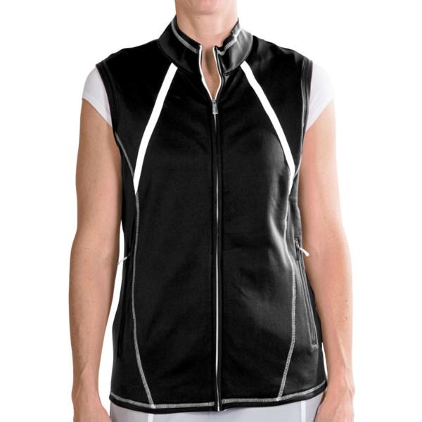 Adidas Golf ClimaWarm(R) Zip Vest (For Women)