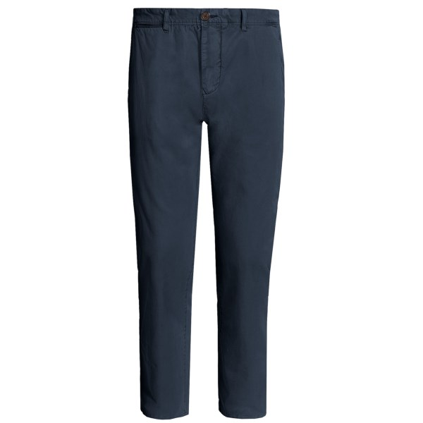CLOSEOUTS . There are two categories of chinos: uptight (as in pressed and preppy) and chill (now weand#39;re talking). It doesnand#39;t take a genius to decide which category applies to Surfside Supply Companyand#39;s chino pants. Garment-washed and broken in, theyand#39;re ready for a long-term relationship. Available Colors: KHAKI, MIDNIGHT, BLUEBERRY, PLUM.
