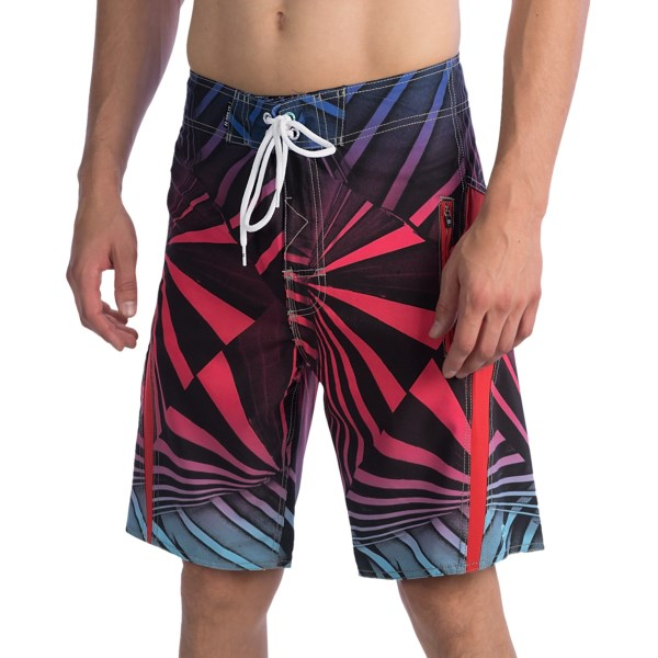 Split Spectrum Boardshorts (For Men)