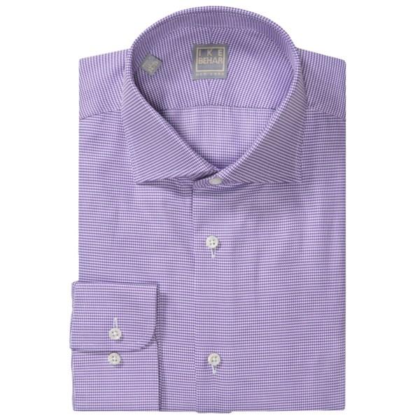 Ike Behar Gold Label Multi-check Dress Shirt - Long Sleeve (for Men)