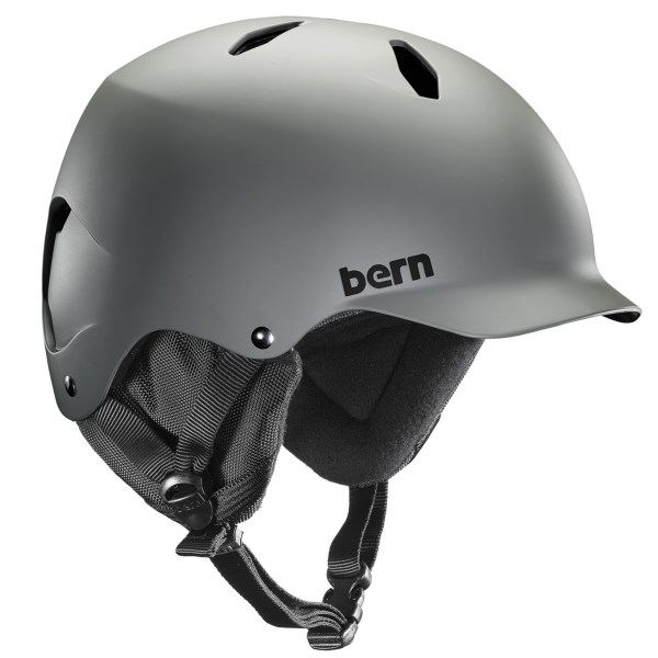 CLOSEOUTS . Active boys get all-season and all-sport versatility with the removable fleece liner and ear flaps, and cooling ventilation of Bernand#39;s Bandito multi-sport helmet. Available Colors: MATTE GREY, MATTE COBALT, SATIN GREY, MATTE ORANGE. Sizes: S/M, M/L.
