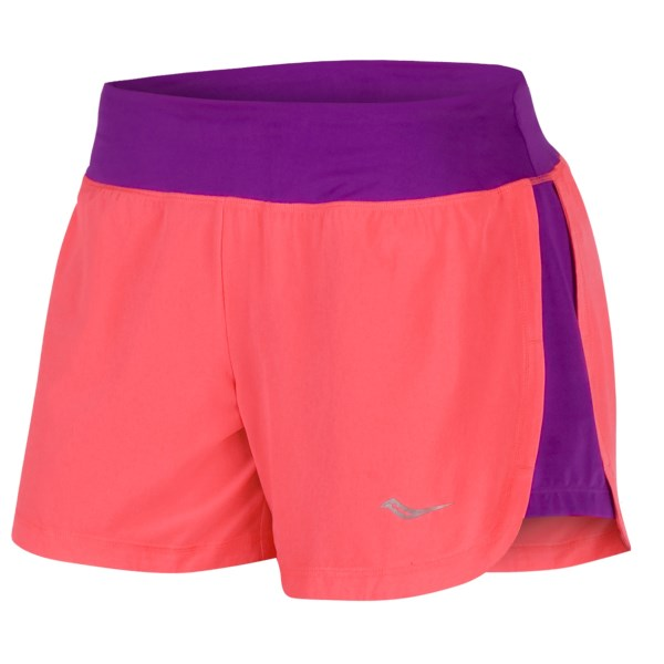Saucony Impulse Shorts - Built-In Brief (For Women)