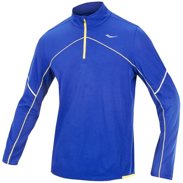 Saucony Transition Sportop Pullover - Zip Neck, Long Sleeve (For Men)