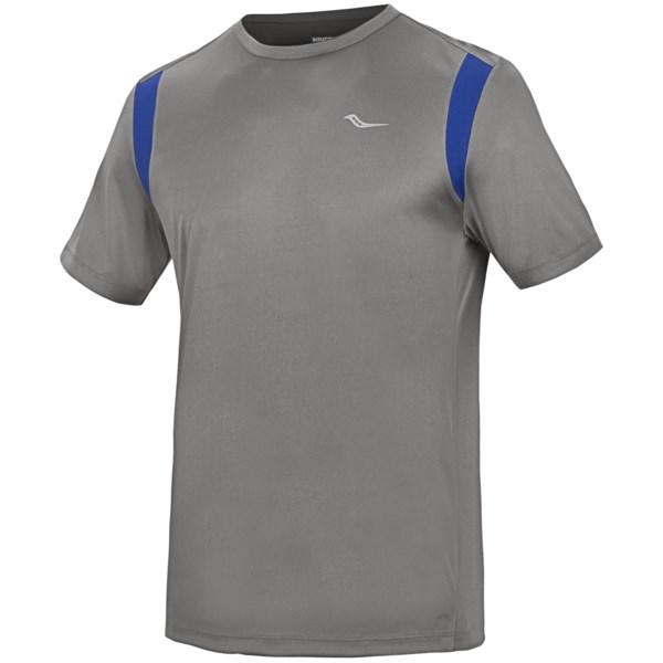 Saucony Velo Shirt - Upf 40-50 , Short Sleeve (for Men)