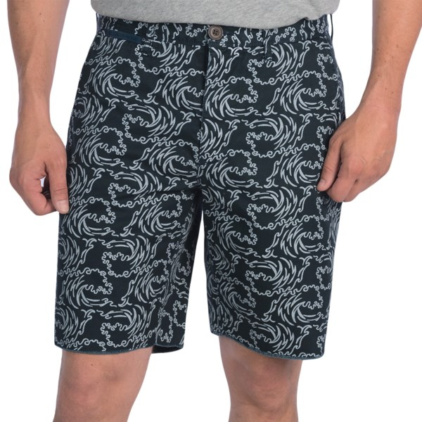 Surfside Supply Company Wave Printed Shorts (For Men)