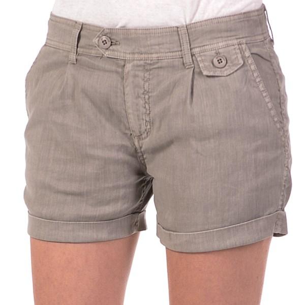 Gramicci Sky Shorts - Linen-Cotton Canvas (For Women)