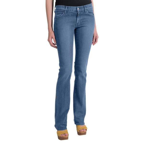 Koral 8 Months Distressed Mid Denim Jeans - Bootcut (for Women)