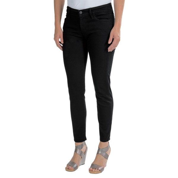 CLOSEOUTS . In Koraland#39;s Cigarette skinny jeans, youand#39;re set to look positively... smokinand#39;. (Right, like we could REALLY pass up a chance to use that great pun?) Light up your style in slim-cut, supersoft denim with plenty of flex for fit. Available Colors: BLACK, 1 MO DARK BLUE.