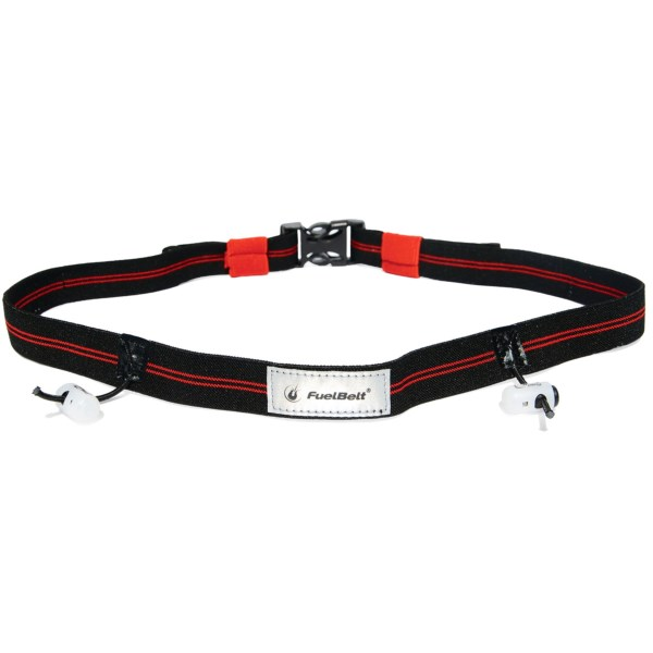 CLOSEOUTS . The easiest way to wear your race number, Fuelbeltand#39;s reflective race number belt has lace locks for your number and a quick-release buckle closure. Available Colors: GREEN/CARBON, HIBISCUS/CARBON, RED/BLACK.