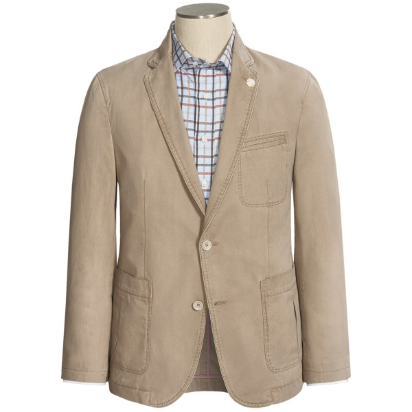 Riviera Red Genesis Washed Twill Sport Coat (for Men)