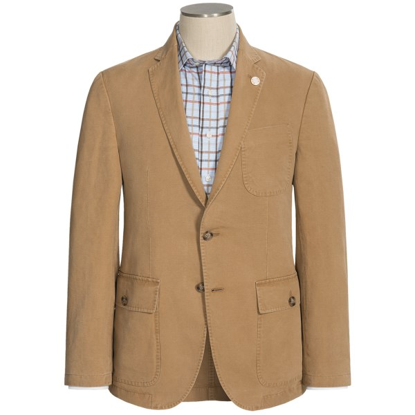 Riviera Red Maine Canvas Weave Sport Coat (for Men)
