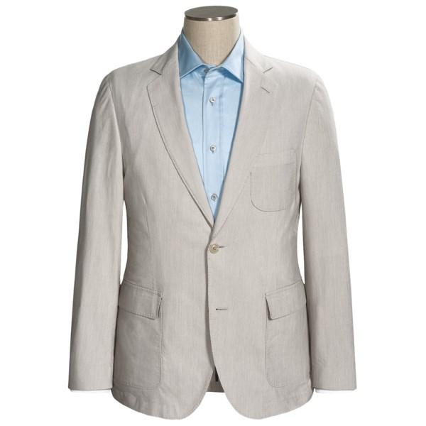 Flynt Bond-W Stripe Sport Coat - Cotton-Linen (For Men)